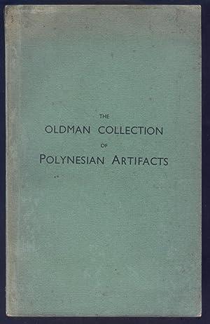 The Oldman Collection of Polynesian Artifacts. Memoirs: Oldman, W.O.