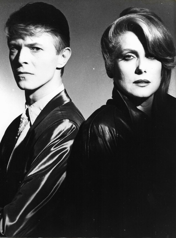 Photographie argentique : David Bowie et Catherine Deneuve dans le ...