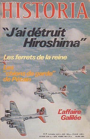 "Magazine ""Historia"" n°412, mars 1981: Magazine Historia (Raymond"