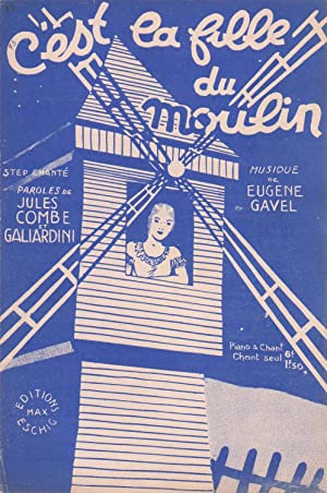 """Partition de """"C'est la fille du moulin"""",: COMBE, Jules et"""