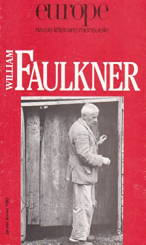 "William Faulkner (revue ""Europe""): Collectif (FAULKNER, William)"