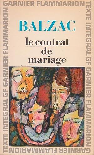 Contrat de mariage (Le): BALZAC, Honoré [de]