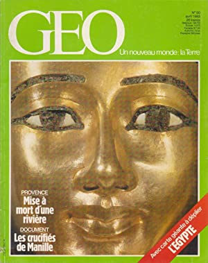 Magazine Géo n°50, avril 1983 (L'Egypte)