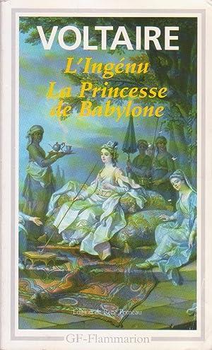 Ingénu (L'), suivi de La Princesse de: VOLTAIRE