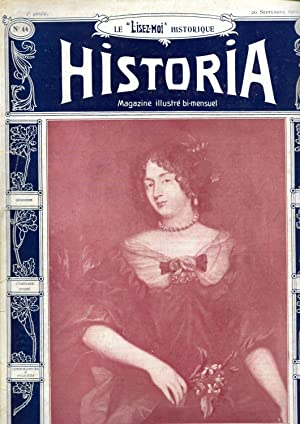 """Magazine """"Historia"""" n°44, du 20 septembre 1911: Magazine Historia (Fontenilles,"""