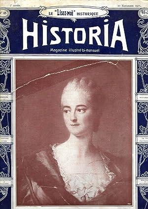 """Magazine """"Historia"""" n°48, du 20 novembre 1911: Magazine Historia (Vicomte"""