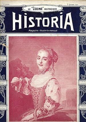 "Magazine ""Historia"" n°51, du 5 janvier 1912: Magazine Historia (Arsène"