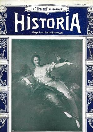 "Magazine ""Historia"" n°53, du 5 février 1912: Magazine Historia (Gustave"