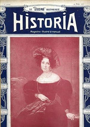"""Magazine """"Historia"""" n°56, du 20 mars 1912: Magazine Historia (J.-A."""