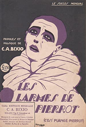 """Partition de """"Les Larmes de Pierrot (Cosi: BIXIO, Cesare Andrea"""