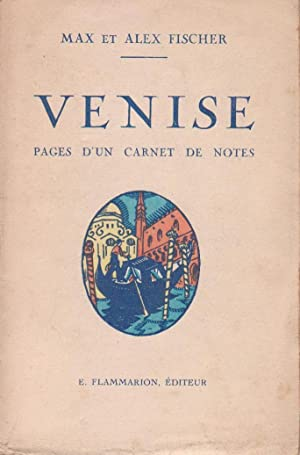 Venise, pages d'un carnet de notes