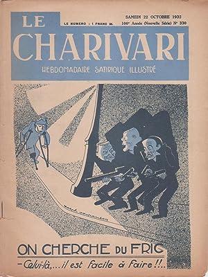 """Revue """"Le Charivari"""" n°330 du 22 octobre: Collectif"""