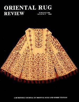 Oriental Rug Review Vol. 10 #5: Oriental Rug Review