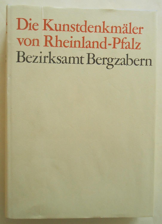 Die Kunstdenkmäler der Pfalz. Band IV: Bezirksamt: Eckardt, Anton: