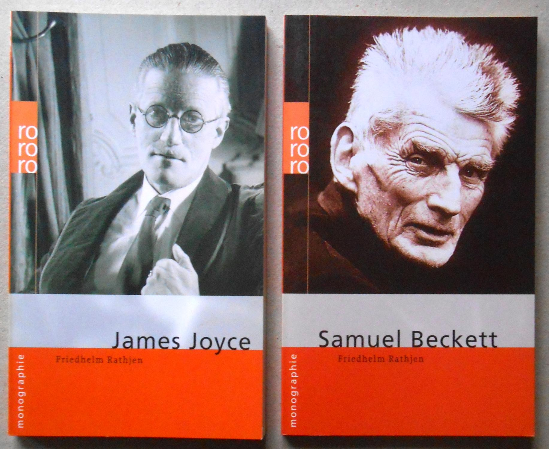 2 rowohlt monographien: 1.) James Joyce. Dargestellt: Joyce, James /