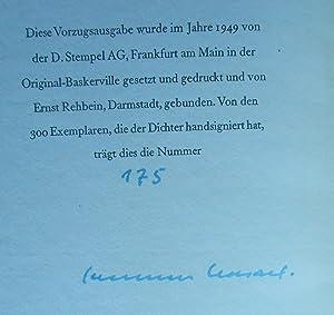 Der Webstuhl. Erzählung.: Kasack, Hermann:
