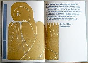 Wohnraum. Gedicht mit einem Original-Farbholzschnitt von Wilhelm Neufeld.: Neufeld, Wilhelm. - Hein...