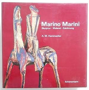 Marino Marini. Skulptur - Malerei - Zeichnung. Einführung von A. M. Hammacher. Aus dem Holl&...