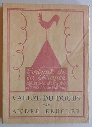 Vallée du Doubs. Frontispice de Gabriel Fournier.: Beucler, André: