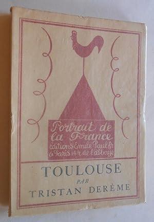 Toulouse. Frontispice d Hermine David.: Der�me, Tristan: