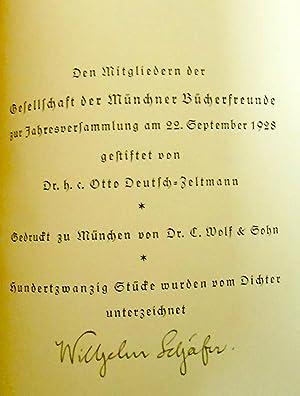 Ludwig Böhner gibt sein letztes Konzert. Novelle.: Schäfer,Wilhelm :