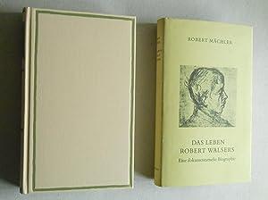 Das Leben Robert Walsers. Eine dokumentarische Biographie.: Walser, Robert. - M�chler, Robert: