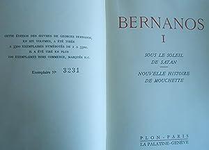 Oeuvres en six volumes. I: Sous le soleil de Satan / Nouvelle histoire de mouchette. II: L&...