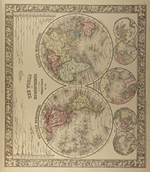 Mitchell's new general atlas containing maps of the various countries of the world, plans of ...