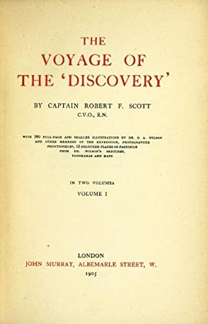 The Voyage of the 'Discovery.': SCOTT, Capt. ROBERT