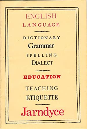 Language and education: catalogue LXIV, summer [heading title]