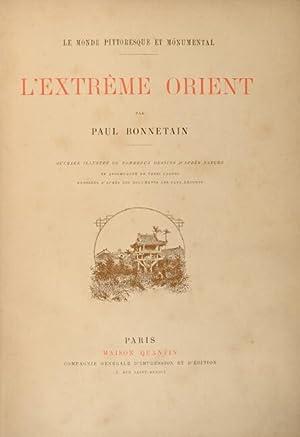 L'extreme Orient: Bonnetain, Paul