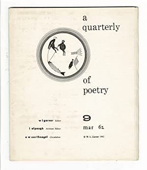 A quarterly of poetry 9 [cover title]: Garner, W.L., ed.
