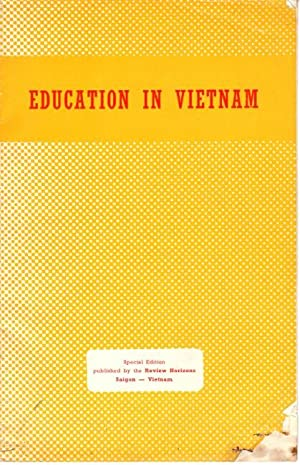 Education in Vietnam [cover title]
