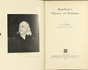 Bentham's theory of fictions: Ogden, C. K.