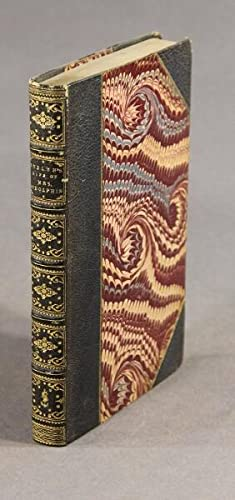 The life of Mrs. Godolphin. Now first published and edited by Samuel Lord Bishop of Oxford, ...