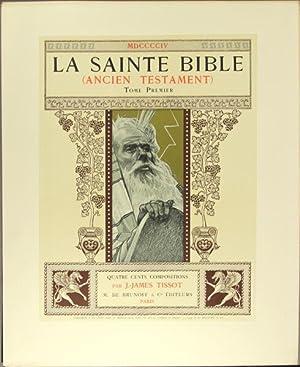 La Sainte Bible (ancient testament): Tissot, James Jacques