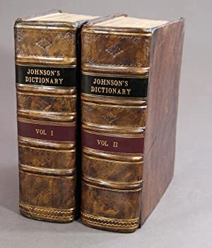 A dictionary of the English language: in which the words are deduced from their originals . the f...