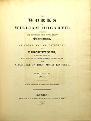 The works.Containing one hundred and fifty-eight engravings, by Mr. Cooke, and Mr. Davenport; with ...