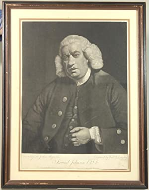 Mezzotint portrait, painted by Reynolds, and engraved by William Doughty: Reynolds, Joshua, Sir