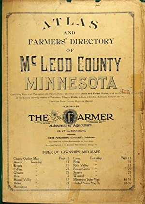 Atlas and farmers' directory of McLeod County, Minnesota, containing plats of all townships with ...
