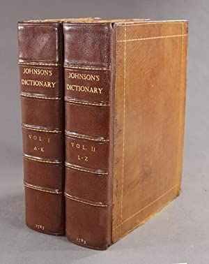 A dictionary of the English language in which the words are deduced from their originals . The si...