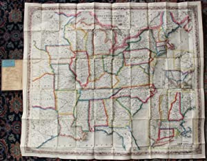 Colton's map of the United States the Canadas &c. showing the rail roads, canals, stage roads, wi...