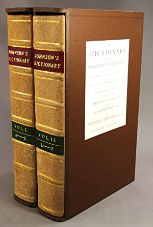 A dictionary of the English language in which the words are deduced from their originals.