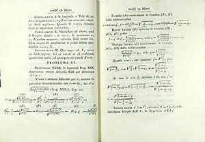 Opuscula mathematica auctore Petro Giannini dicta regiae celsitudini Petri Leopoldi Archiducis ...