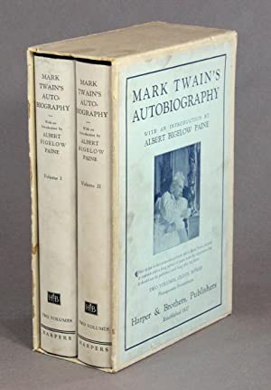 Mark Twain's autobiography with an introduction by Albert Bigelow Paine: CLEMENS, SAMUEL.