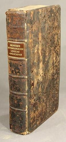 Etymologicon linguae anglicanae, seu explicatio vocum anglicarum etymologica ex propriis fontibus, ...