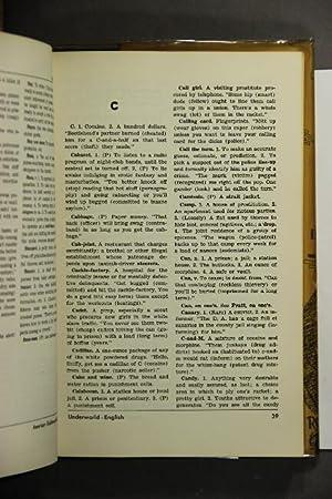 Dictionary of American underworld lingo: Goldin, Hyman E. ed
