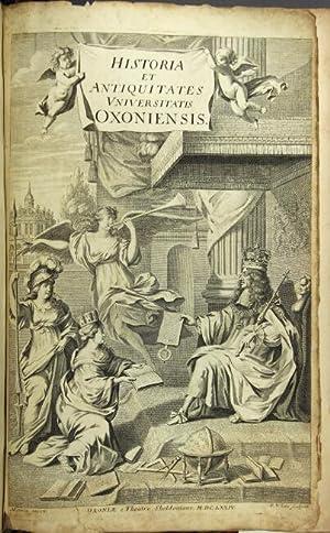 Historia et antiquitates universitatis Oxoniensis duobus voluminibus: Wood, Anthony