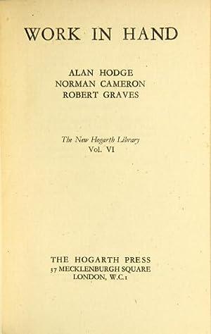 Work in hand: Hodge, Alan, Norman Cameron, & Robert Graves