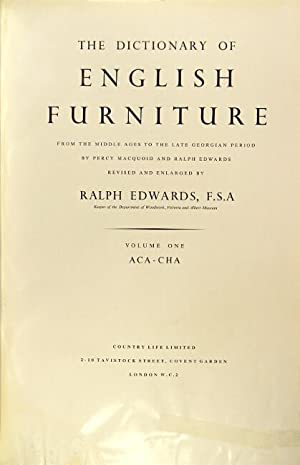 The dictionary of English furniture from the Middle Ages to the late Georgian period . revised an...